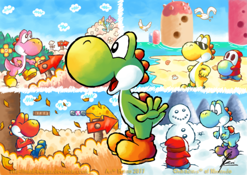 Yoshi's Island Seasons