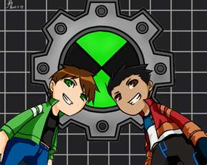ben and rex toons