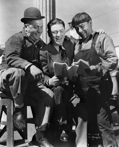 curly, shemp & moe - three-stooges Photo