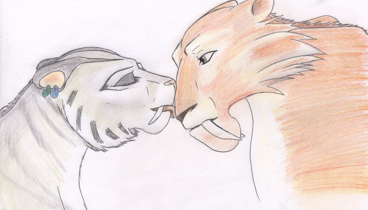 ice age 4 shira and diego kiss - photo #6