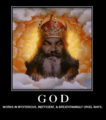 god - atheism photo