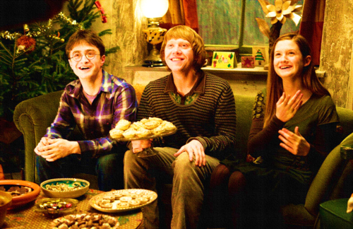 harry, Ron and Ginny