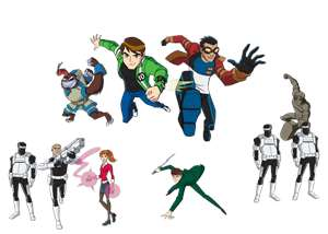 hero teams - ben 10 vs generator rex Photo (29298093) - Fanpop 
