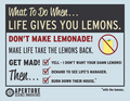 lemon sign