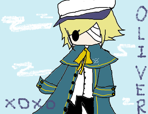 Vocaloid Oliver wallpaper with animê entitled lol i tried to draw him on mspaint (no tablet)