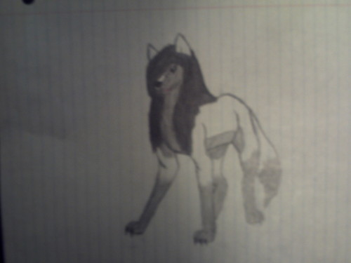 me as a wolf :D