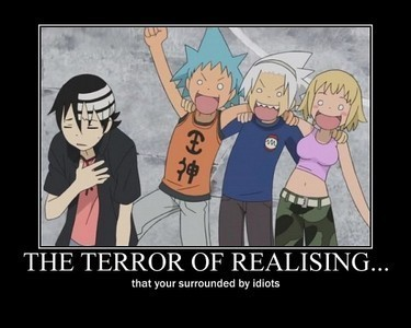 soul eater demotivational
