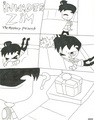 the mystery present pg 1 - invader-zim fan art