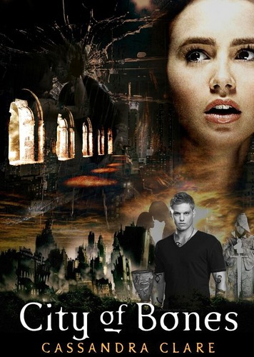 'City of Bones' fanmade book cover
