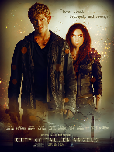 'The Mortal Instruments: City of Fallen Angels' fanmade movie poster