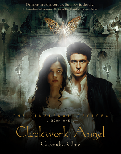 'Clockwork Angel' fanmade book cover