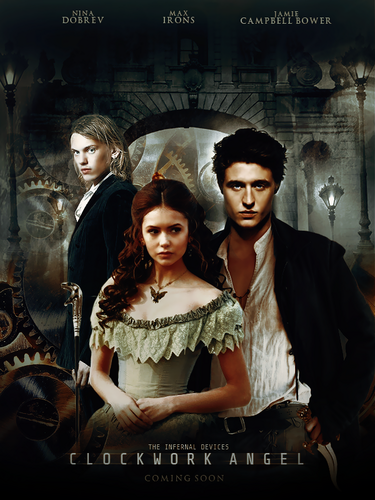 'Clockwork Angel' fanmade movie poster
