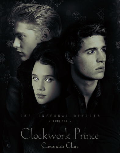 'Clockwork Prince' fanmade book cover