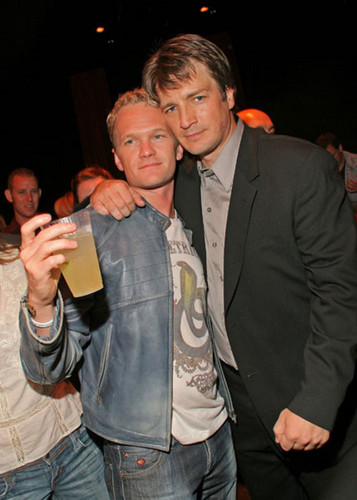 ♥ Neil & Nathan Fillion ♥