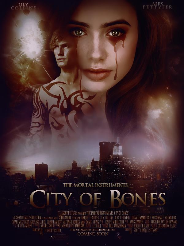 City of Bones Mortal Instruments Movie