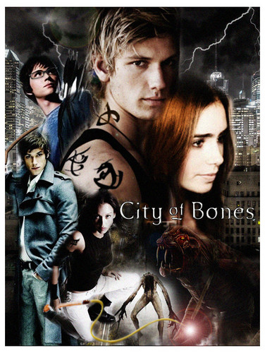 'The Mortal Instruments: City of Bones' fanmade movie poster