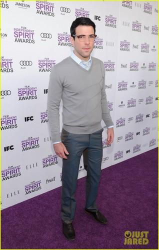 Zachary Quinto - Spirit Awards 2012