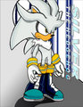{ silver the hedgehog } - silver-the-hedgehog fan art