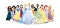 11 NEW DISNEY PRINCESS merida, jasmine, snow white, mulan, aurora, cinderella, pocahontas, tiana,