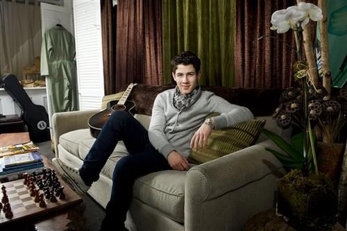 2012 Photoshoot Nick Jonas
