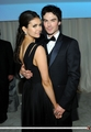 20th Annual Elton John AIDS Foundation - February, 26 - ian-somerhalder-and-nina-dobrev screencap