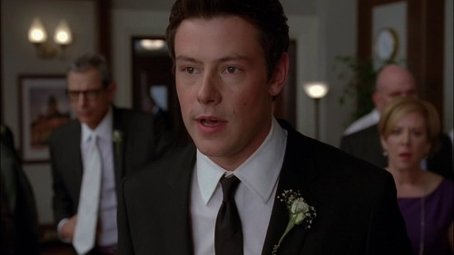 3x14 - On My Way  - glee Screencap