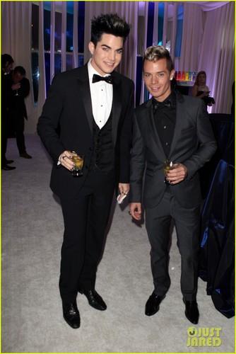 Adam Lambert & Sauli Koskinen - Elton John Oscar Party