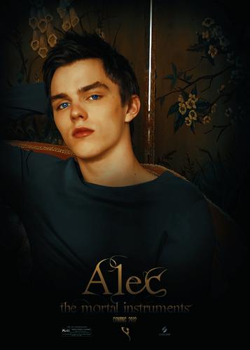 Alec & Magnus 壁紙 probably with a sign entitled Alec