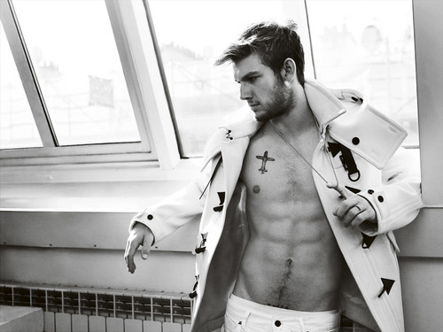 Alex Pettyfer wallpaper possibly with a trench cappotto and a burberry entitled Alex Pettyfer