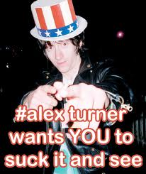 Alex wants tu