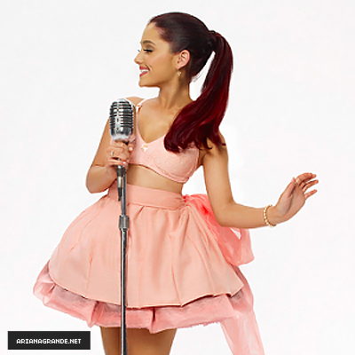 Ariana Grande wallpaper probably containing a cocktail dress and a dress entitled Ariana Grande - Debut Album Photoshoot