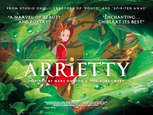 Arrietty UK Poster