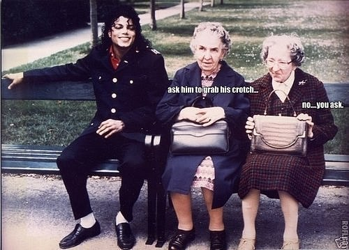 Ask him... - michael-jackson-funny-moments Photo