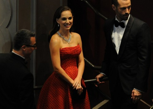 Attending the 84th Annual Academy Awards held at the Hollywood & Highland Center, Hollywood (Februar
