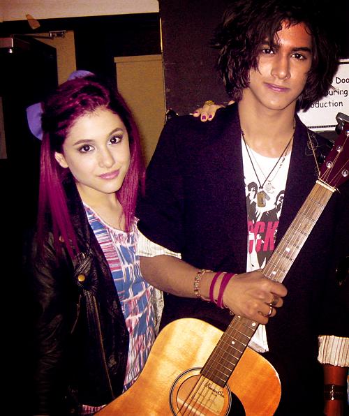 Avan Jogia and Ariana ...