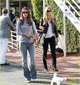 Bar Refaeli &amp; Alessandra Ambrosio: Mauro's Cafe Cuties! - bar-refaeli photo