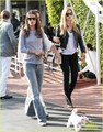 Bar Refaeli & Alessandra Ambrosio: Mauro's Cafe Cuties! - bar-refaeli photo