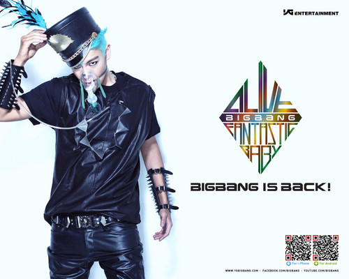 "Big Bang T.O.P ""Alive""  teaser - big-bang Wallpaper"