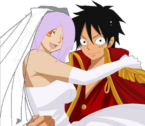 "Blaze and Luffy""s wedding"