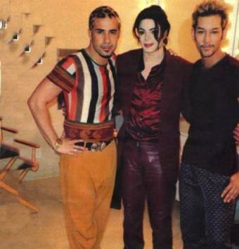Blood on the dance floor backstage (rare)