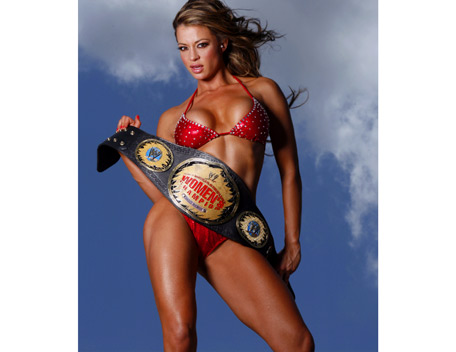 Candice Michelle پیپر وال with a bikini entitled Candice Michelle Photoshoot Flashback