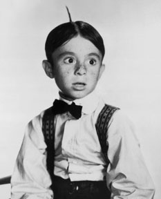 "Carl Dean ""Alfalfa"" Switzer (August 7, 1927 – January 21, 1959"
