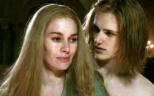 Cersei Baratheon and Lancel Lannister