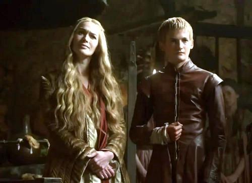 Cersei and Joffrey Baratheon