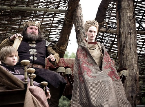 Cersei and Robert Baratheon