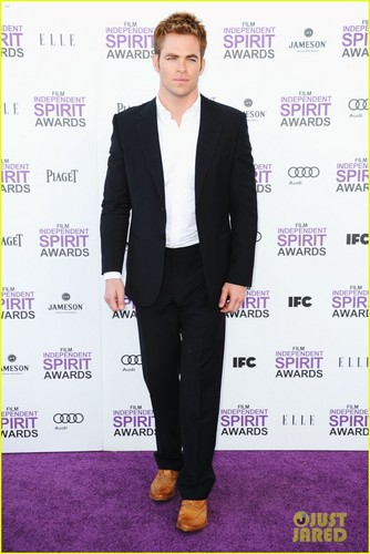 Chris Pine - Spirit Awards 2012