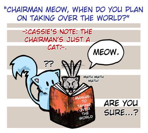 Church and Chairman Meow