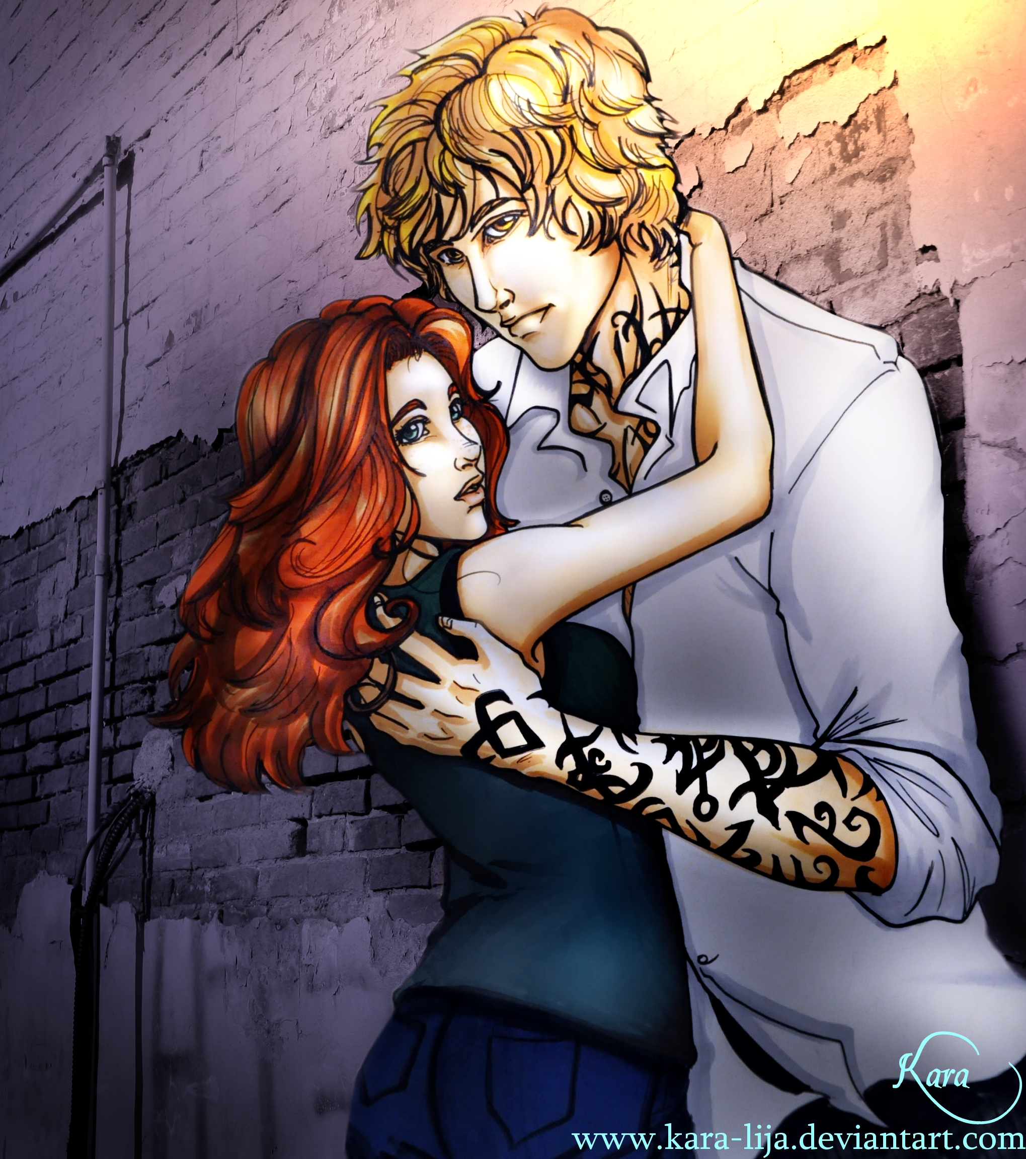 Jace and Clary Finally Have a Fun Day! - The Fandom  |Jace And Clary Fan Art Tumblr