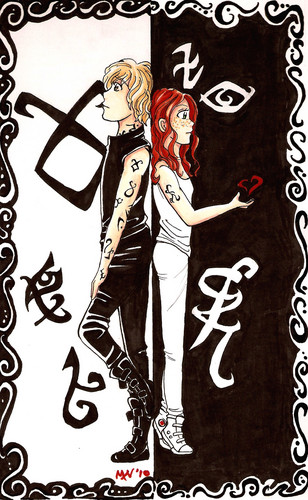 Clary and Jace