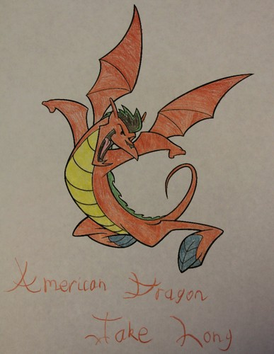 American Dragon: Jake Long achtergrond probably containing anime entitled Color in Jake